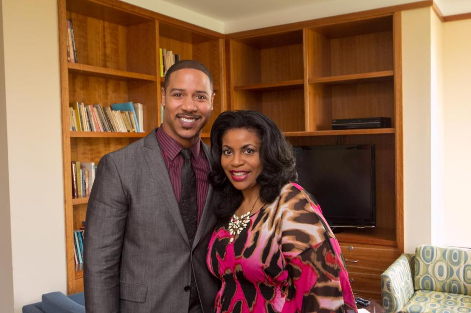 Actor Brian White and Linda Peavy