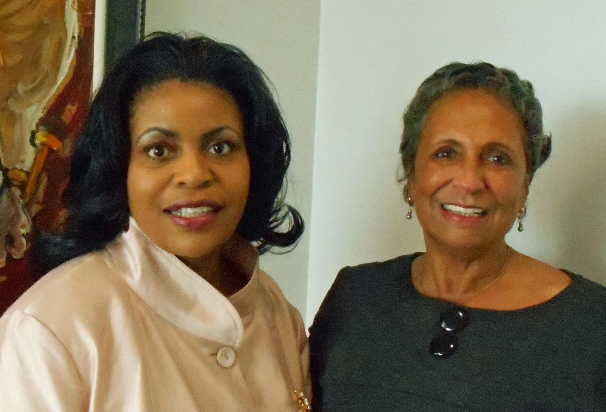 Linda Peavy and Cathy Hughes, Founder and Chairperson of Radio One